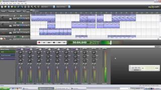 Mixcraft 5 Piano Song