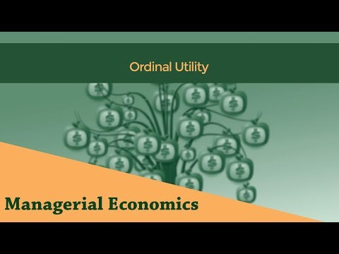 Ordinal Utility | Consumer Equilibrium | Indifference Curve