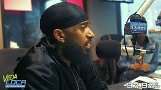 Nipsey Hussle Talks About What His Real Name (Ermias Asghedom) Means, STEM Programs, & More