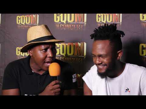 Kwesta Interview with Ntate Moloi at Gqom In Concert in Pavilion #GqomInConcert
