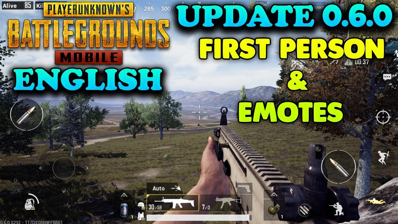 Pubg Mobile Update First Person Emotes Armory And More: NEW UPDATE (0.6.0) ENGLISH