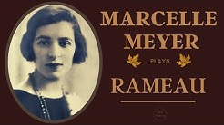 Rameau by Marcelle Meyer - Works on Piano / New Mastering + Presentation (Century's recording)