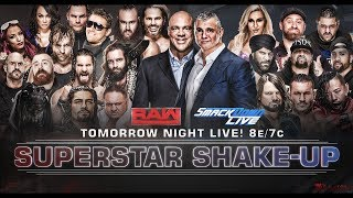 WWE SUPERSTAR SHAKE-UP 2018  ► PREDICTIONS