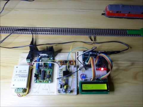 Versuchsaufbau Lokerkennung mittels Railcom