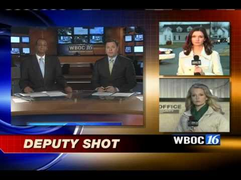Cambridge, MD Shooting and Stand-Off live shot 2-29-12