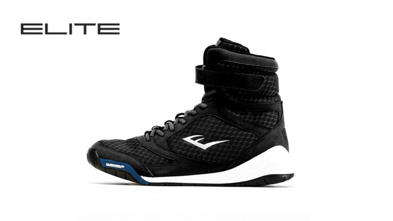Everlast High Top Boxing Shoes Noir