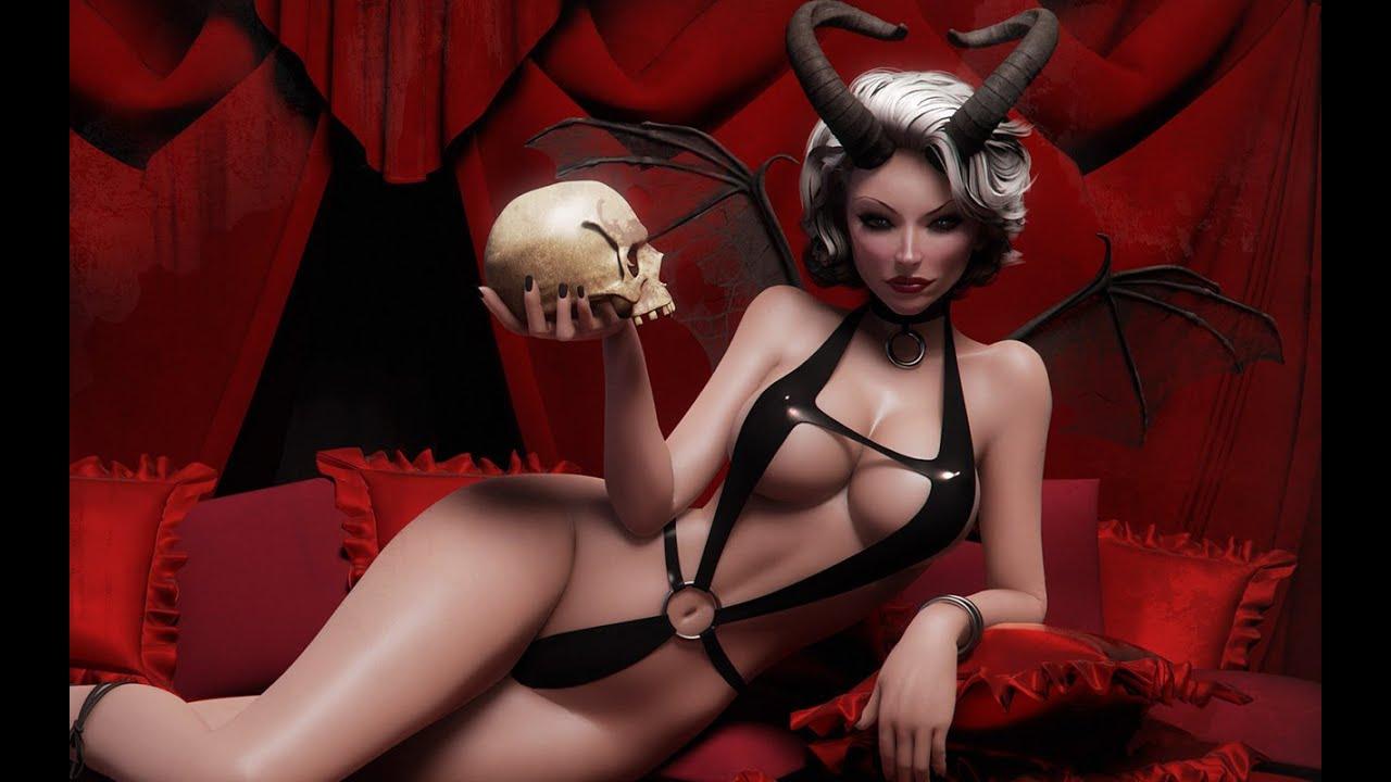Секс c демоном