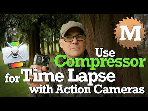 Use Apple Compressor for Time Lapse Sequence with Action Camera SJ7 SJCAM GoPro