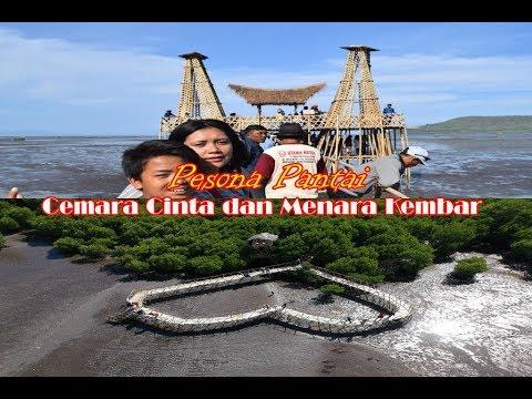 Pesona Pantai Cemara Cinta dan Menara Kembar ,Magrove Kawang Muncar Banyuwangi Indonesia