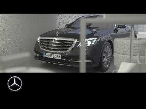 Mercedes-Benz S-Class 2017: Remote Parking Assist – Exploration mode – Getting into parking spaces