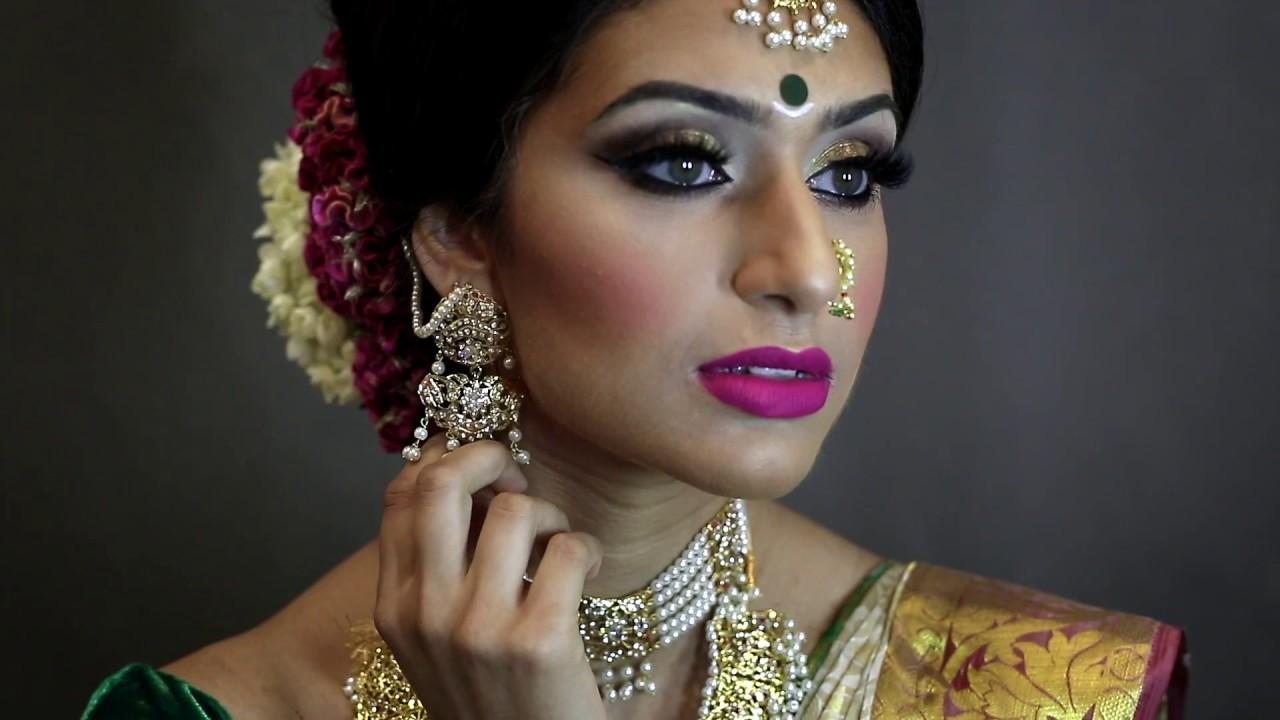 South Asian Tamil Bridal Makeover ...