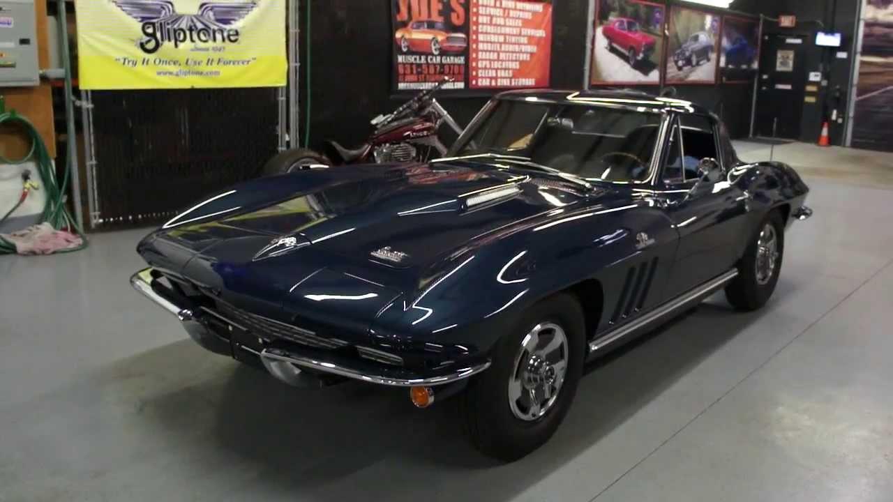 corvette 1966 coupe 427 laguna chevrolet bolt