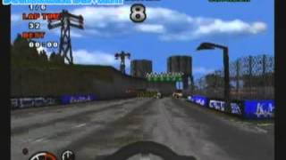 Sega Saturn - Formula Karts Special Edition - Gameplay footage