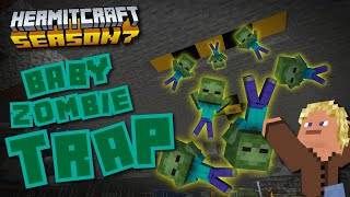 Baby Zombie Security! - Minecraft Hermitcraft Season 7