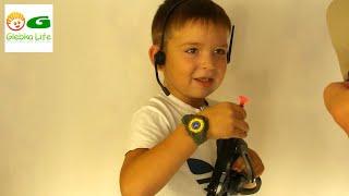 Военный набор. Игрушки для мальчиков: детское оружие.