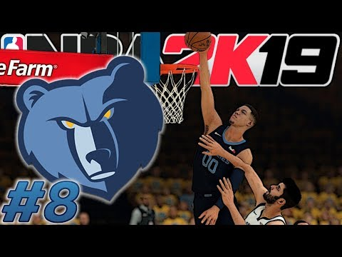 NBA 2k19 MyLEAGUE (w/ Ryder) | Memphis Grizzlies #8 | 16th Seed Savagery