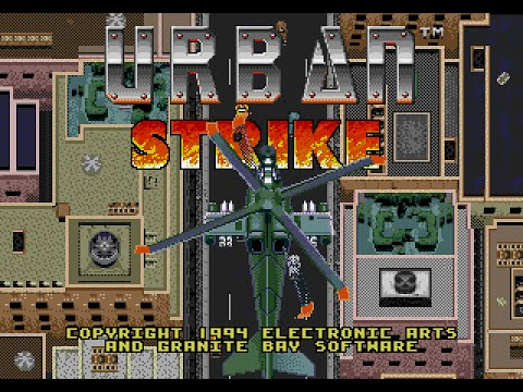 Image result for urban strike mega drive