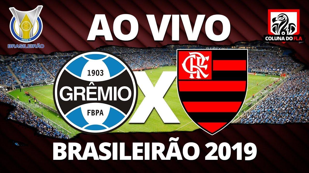 Gremio X Flamengo Ao Vivo 33ª Rodada Brasileirao 2019 Narracao Rubro Negra Youtube