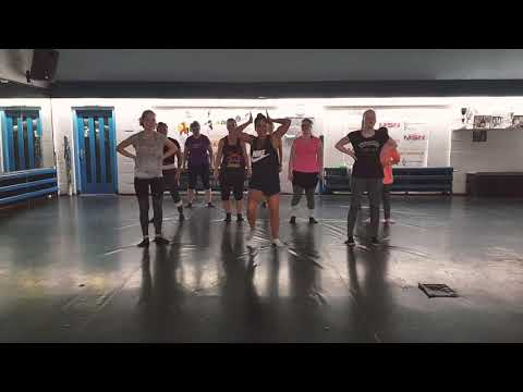 Zumba - Holy Ghost Fire - Flex ft. Akon/choreo by Naomi Tuhehay