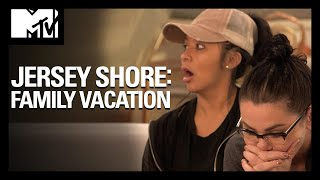 Jen Shows Up & 'S**t 💩 Is Gonna Hit the Fan' | Jersey Shore: Family Vacation | MTV