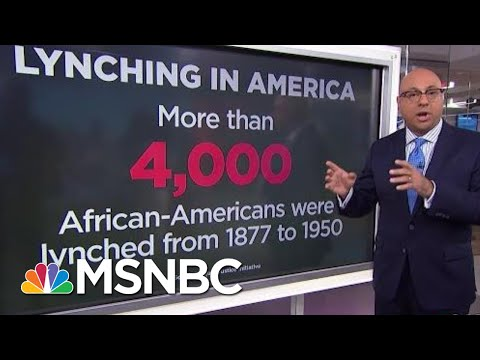 A History Lesson On Lynching | Velshi & Ruhle | MSNBC