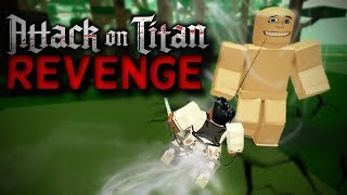Roblox Attack on Titan: Revenge - New Attack on Titan game on Roblox! [BETA]