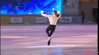 Юлия Липницкая Шоу Королевы Льда, ГУМ Каток январь 2019