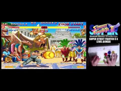 [3/4] SUPER STREET FIGHTER II X(Arcade,JP,LV8,HARDEST)