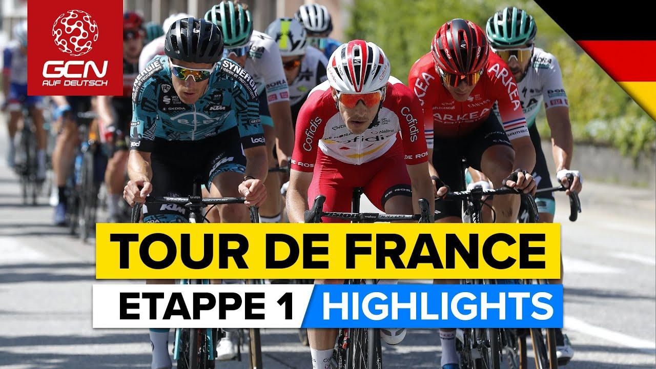Tour de France Etappe 1 Highlights