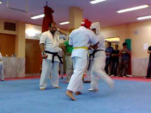kyokushin kai kan karate 2 iran (matsui) mani zare vs Mostafa