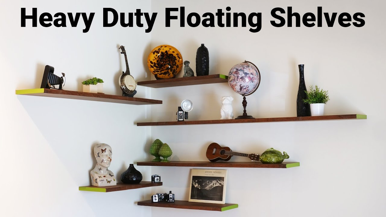 Diy Floating Wall Shelves And Hardware
