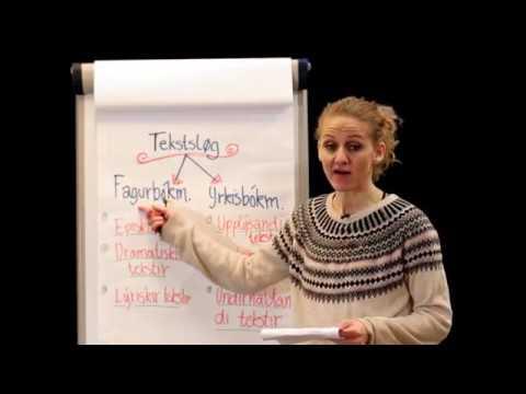 Glasir Føroyskt - Tekstsløg 2. partur