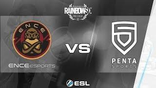 Rainbow Six Pro League - Season 2 - PC - EU - ENCE eSports vs. PENTA Sports - Week 7