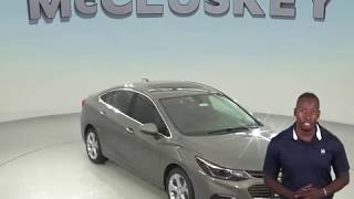 180580 New 2018 Chevrolet Cruze Premier FWD 4D Sedan Test Drive, Review, For Sale -