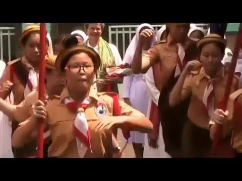Kunjungan Sr.Marife (OLSH Superior General) ke Sekolah Bunda Hati Kudus Jakarta
