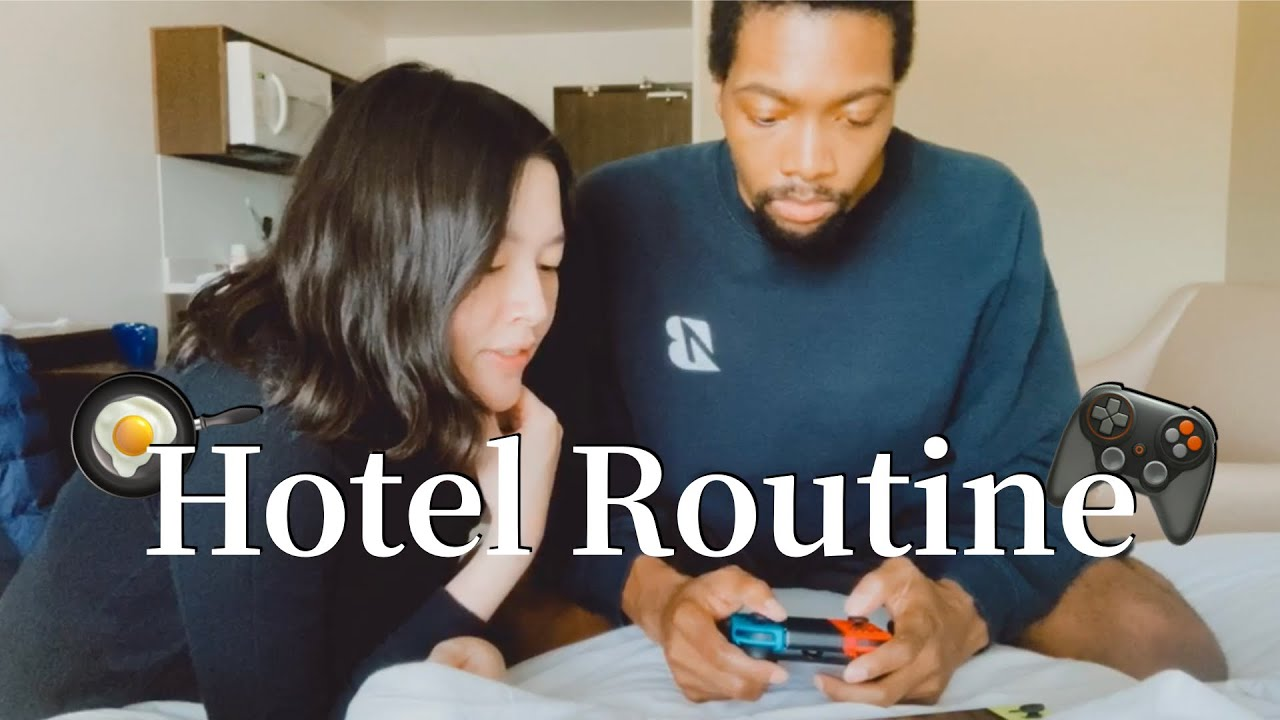 Those days in hotel Blasian Couple sometimes with Keys