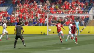 Fifa 17 volley goals compilation
