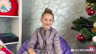 Трогательное видео про Николь и 3 ,5 года обучения гимнастики
