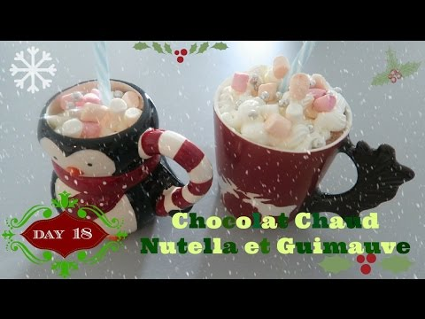 chocolat chaud nutella et guimauve de no l day 18 swap youtube. Black Bedroom Furniture Sets. Home Design Ideas