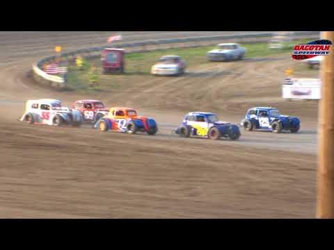Dacotah Speedway INEX Legends Heats (8/10/18)