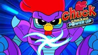 Chuck Chicken - Power Up - Episode 11 - Gold Rush - cartoon show