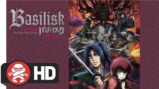 Basilisk: The Ouka Ninja Scrolls Part 1 (Eps 1-12) DVD / Blu-Ray Combo