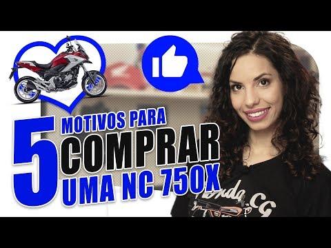 NC 750X - 5 MOTIVOS PARA COMPRAR | Mulheres de Moto