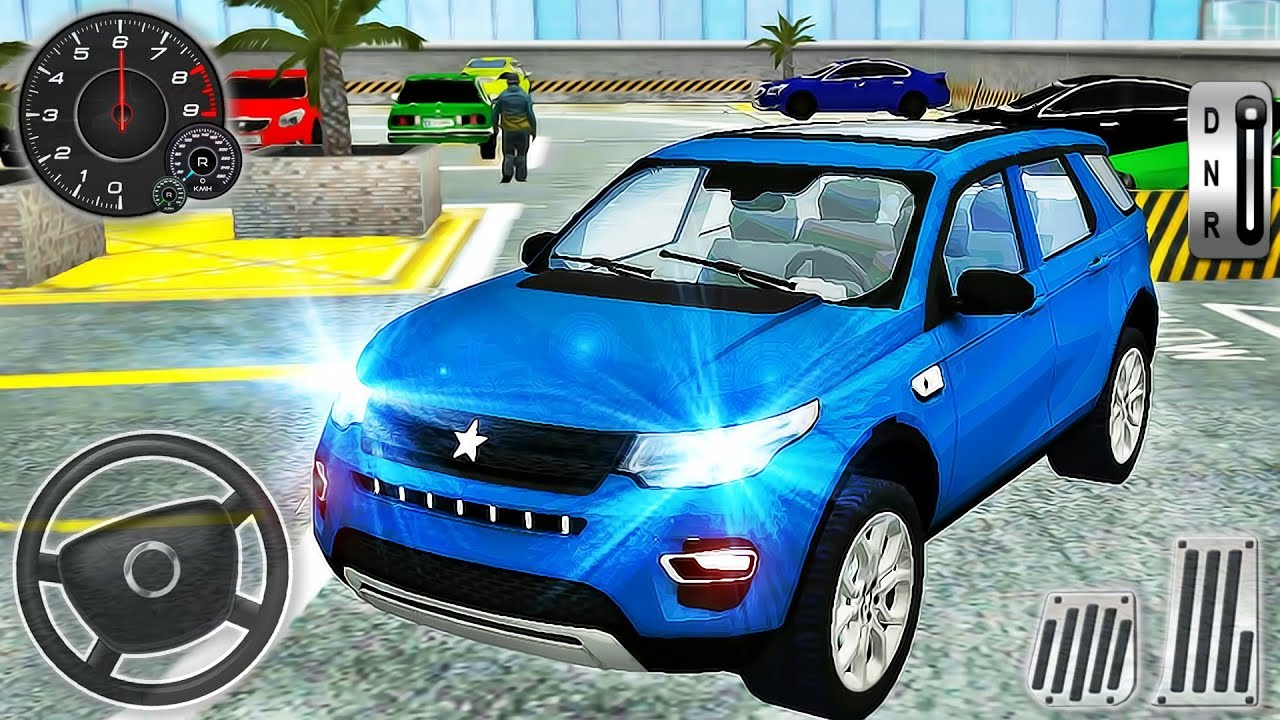 Multi Level Parking Simulator - Sport Car Drive Range Rover - Android GamePlay #2