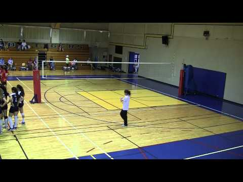 Varsity Volleyball 2013-14 Morrison Academy vs Taipei University of Technology