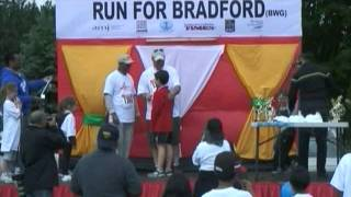 Urdu: Run for Bradford West Gwillimbury Canada, Ahmadiyya Muslim Community Report on Charity Walk