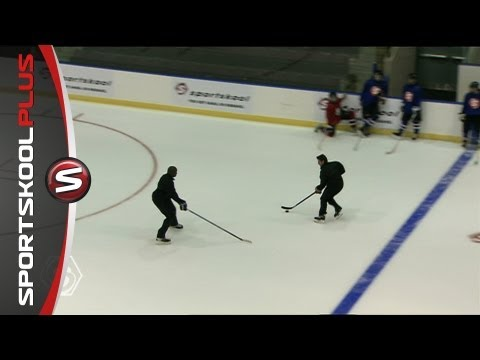 Hockey Drills One on One with Coach Tom Martin