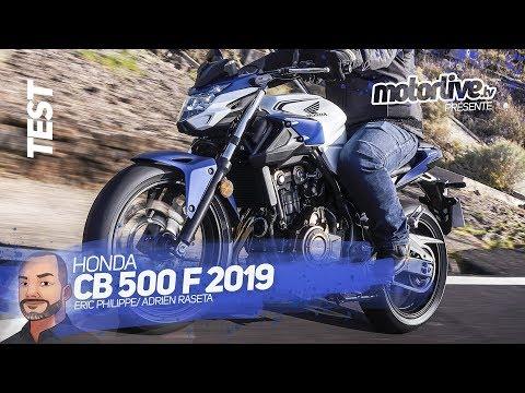 HONDA CB 500 F 2019 | TEST MOTORLIVE