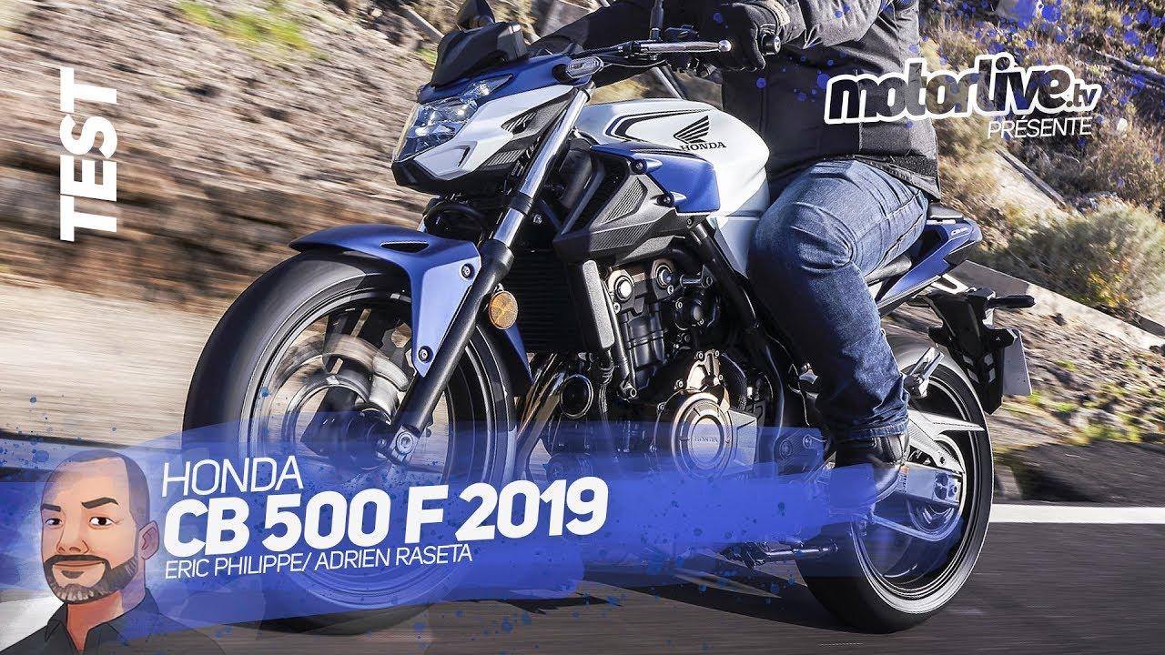 Honda Cb 500 F 2019 Test Motorlive Youtube