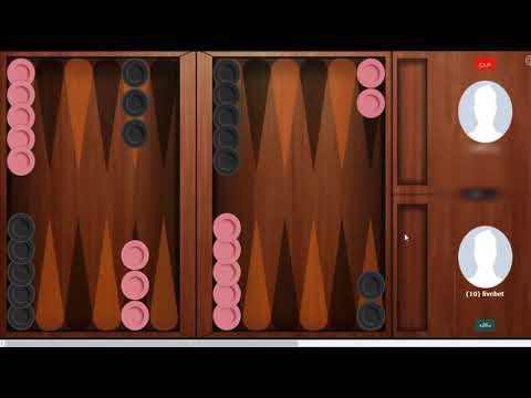 آموزش بازی جذاب تخته نرد در سایت لایو بت